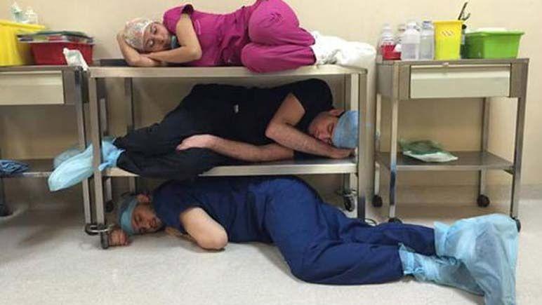 Guardias médicas - Trabajo esclavo consentido y legitimado